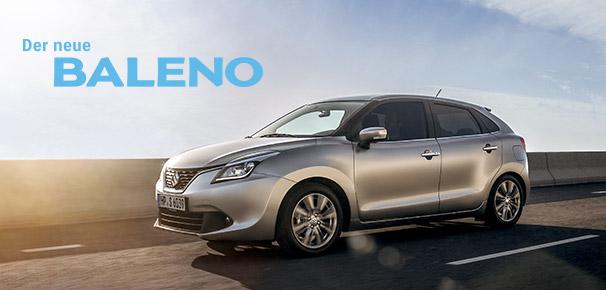 Der neue Suzuki Baleno:  Preisvorteil sichern –  nur bis 31.12.2016!