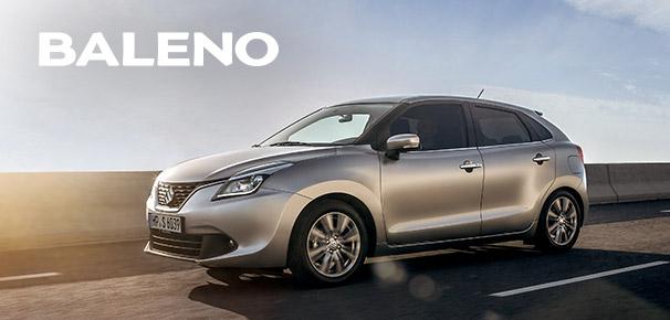 1.000-Euro-Preisvorteil⁴ sichern – beim Kauf eines neuen Suzuki Baleno!