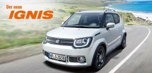 """Der neue Suzuki Ignis """"Intro Edition"""": Ab einzigartigen 59,– EUR pro Monat³!"""
