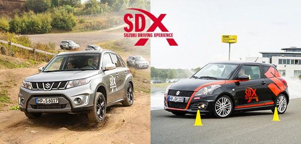 Die Suzuki Driving Xperience 2017: Spaß und Action für mehr Sicherheit!