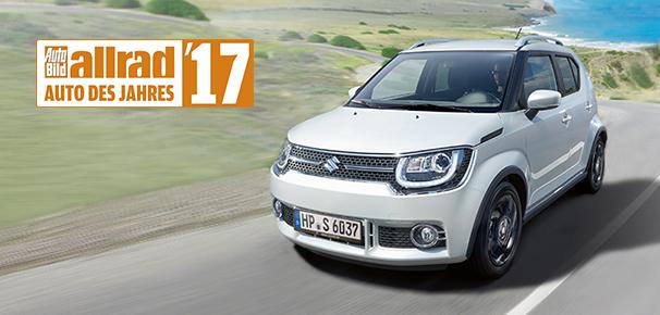 Ausgezeichnet! Der neue Suzuki Ignis gewinnt Designpreis der AUTO BILD.