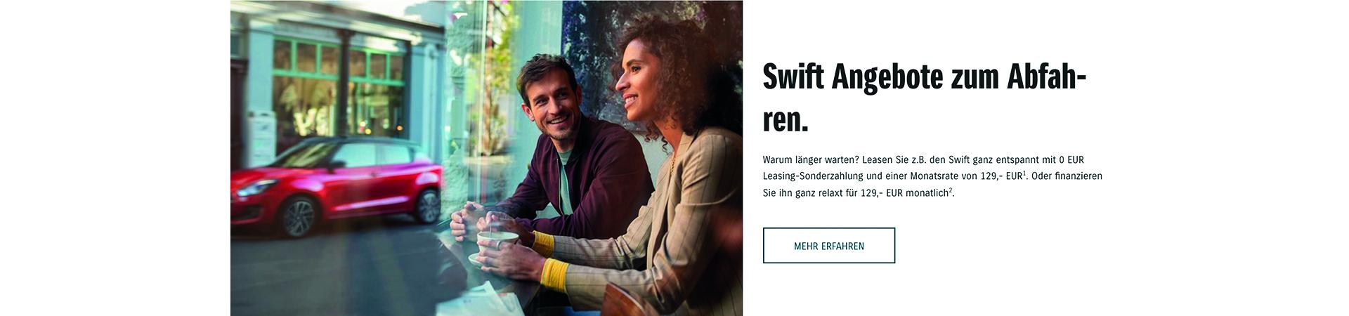 Swift Angebote zum Abfahren.